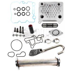 2003 – 2007 Ford 6.0 Powerstroke Oil Cooler Upgrade & EGR Delete Kit