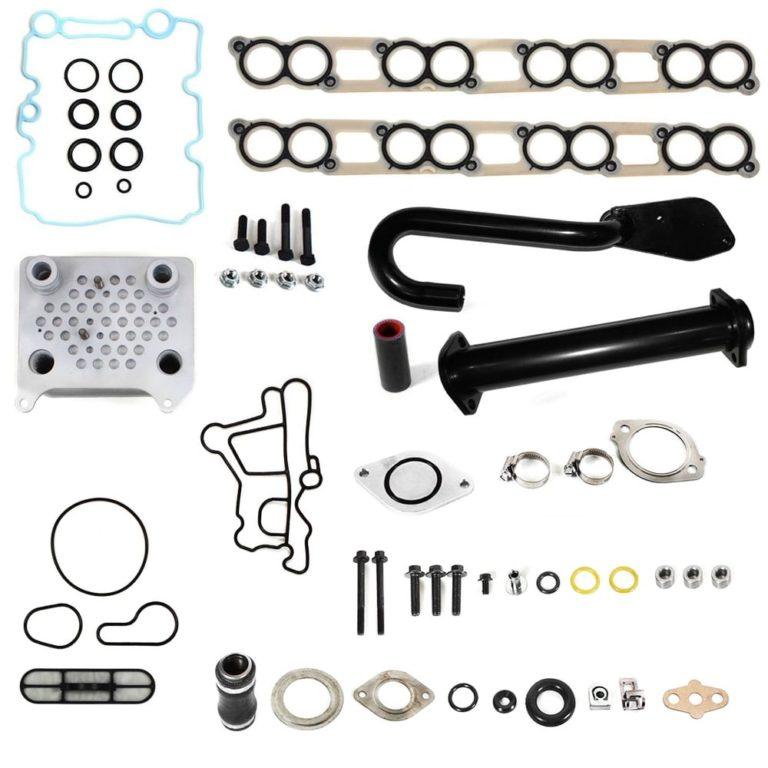 Ford 6.0L Powerstroke Diesel High Flow EGR Delete and Oil Cooler Kit