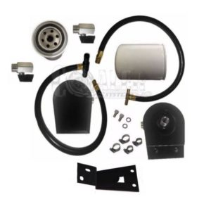 Diesel Coolant Filtration System F250 F350 6.0L Powerstroke Cooler Kit