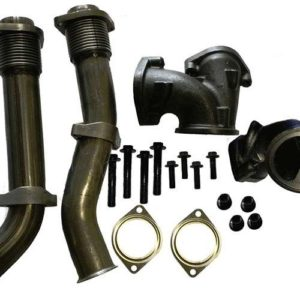 1999 – 2003 Ford 7.3L Powerstroke Turbo Diesel Bellowed Up Pipe Kit