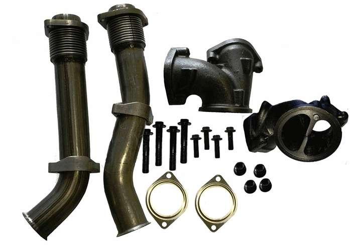 1999 – 2003 Ford 7.3L Powerstroke Turbo Diesel Bellowed Up Pipe Kit