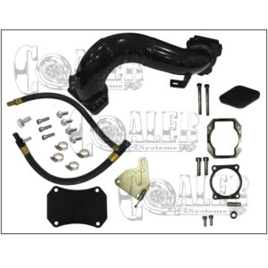 2011 – 2015 Duramax Diesel Chevy GMC 6.6 LML Intake Bridge Delete Kit