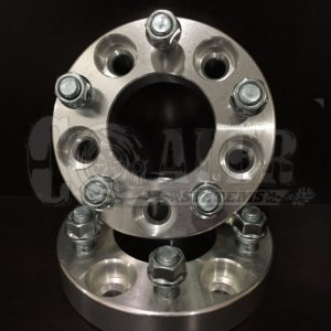 1.25 inch Wheel Spacers 5×4.5 to 5×5 (5×114.3 to 5×127) | 5 Lug | M12-1.5 Studs
