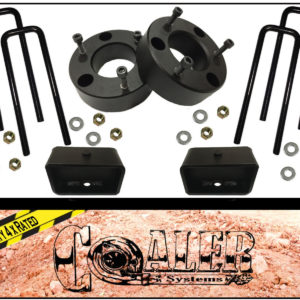 2007 - 2016 Silverado GMC Sierra 3 inch Leveling Kit Front with 2 inch Lift Kit Rear