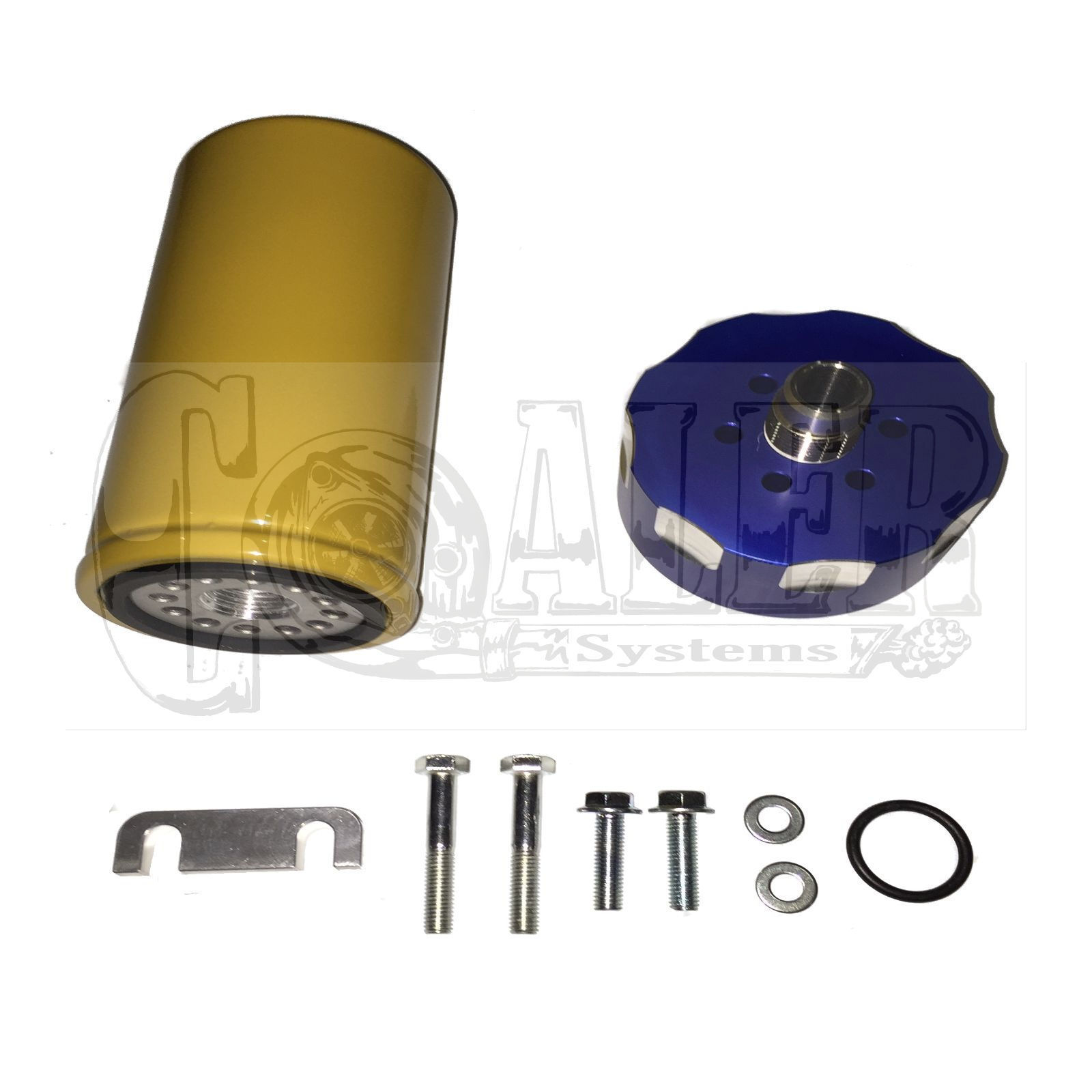 2001 - 2015 Fuel Filter 6.6 Duramax Diesel Adapter Kit - Coaler Systems |  Diesel and Automobile Specialty Parts