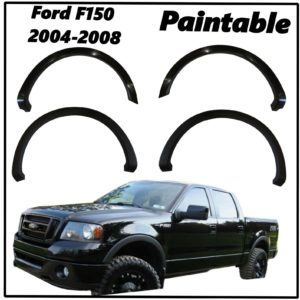2004 - 2008 Ford F150 Smooth Style Fender Flares