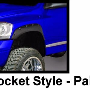 2002 - 2008 Dodge Ram 1500 2500 3500 Pocket Style Riveted Fender Flares