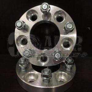 Black 1 inch Wheel Spacers 5×4.75 (5×120.65) | 5 Lug