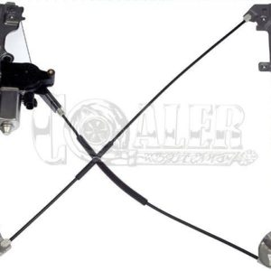 1999 - 2007 Chevy GMC Window Regulator w/ Motor | Front Left / 741-644