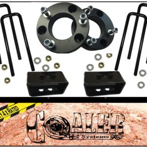 2004 - 2016 Ford F150 Leveling Kit 3 inch Front with 2 inch Lift Kit Rear
