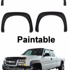2002 - 2006 Chevy Silverado Pocket Style Riveted Fender Flares