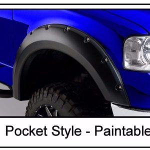 2004 - 2008 Ford F150 Pocket Style Riveted Fender Flares