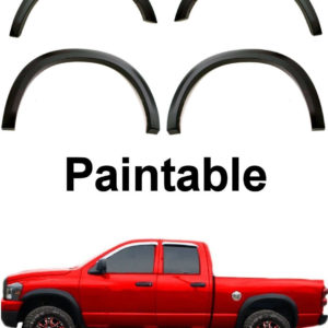2002 - 2008 Dodge Ram 1500 2500 3500 Smooth Style Fender Flares