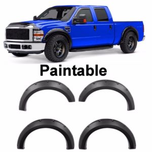 1999 - 2007 Ford F250 F350 Pocket Style Riveted Fender Flares