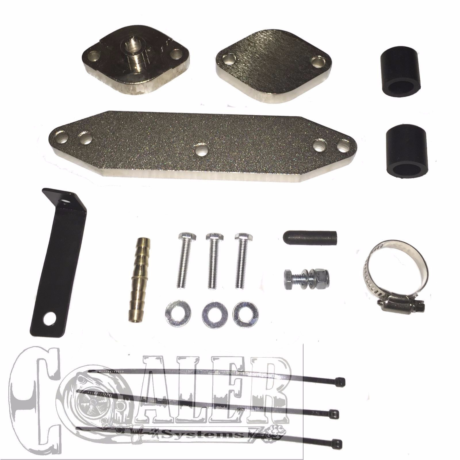2011 2014 Ford 6 7 Powerstroke Egr Delete Kit Cooler W Factory Egt Coaler Systems Diesel And Automobile Specialty Parts