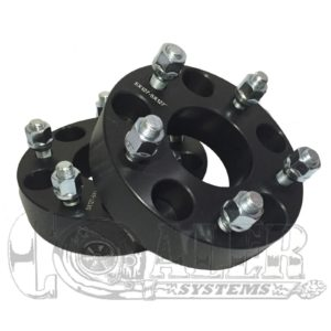 Black 1.5 inch Wheel Spacers 5x5 (5x127) | 5 Lug