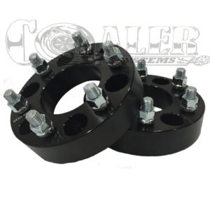 Black 1.5 inch Wheel Spacers 6x135 | 6 Lug