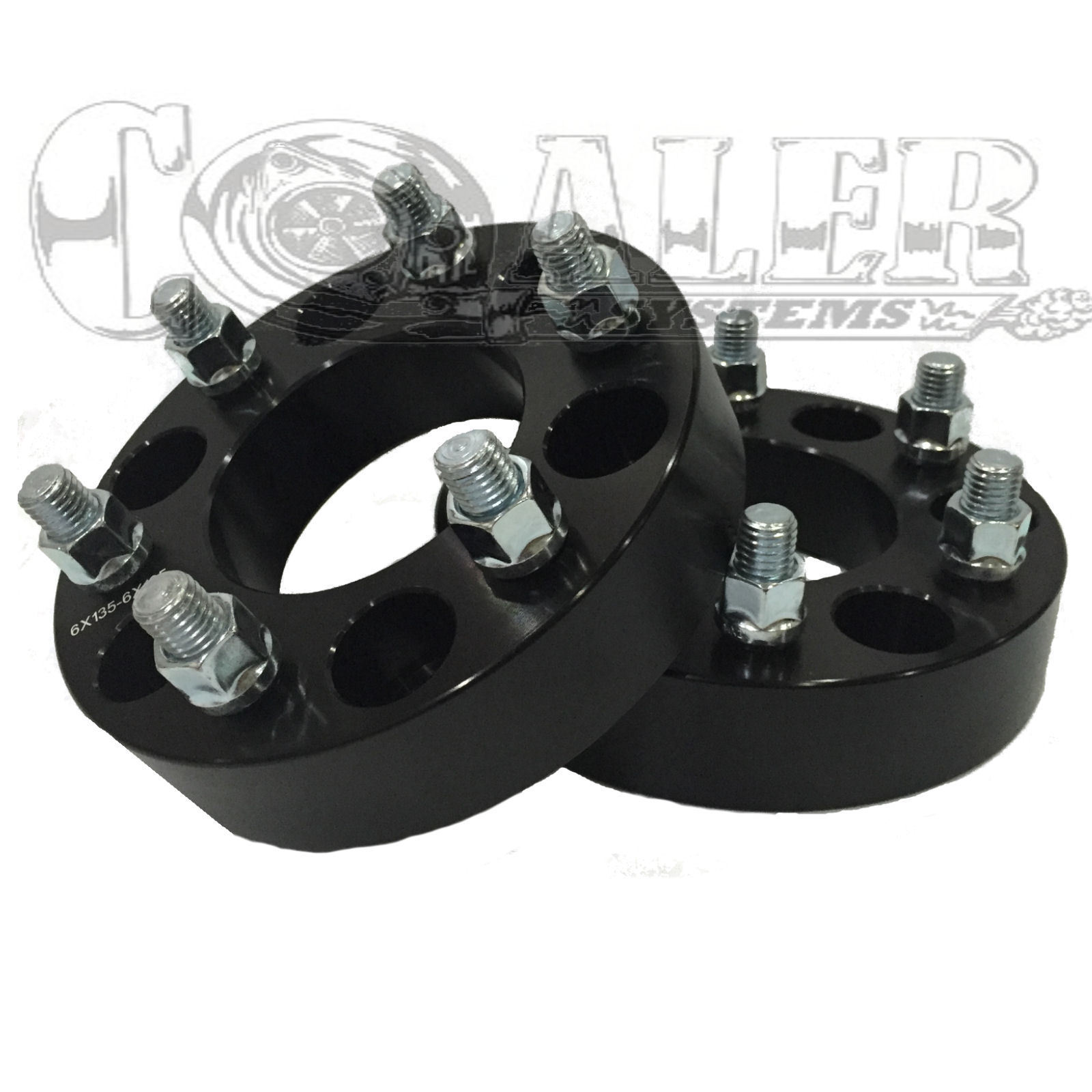 1 BLACK Wheel Spacer Ford F150 Expedition 03 04 05 06 07 08 09 10 11 12 13 14