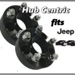 Black 1.5 inch HubCentric Wheel Spacers 5x5 | 5 Lug