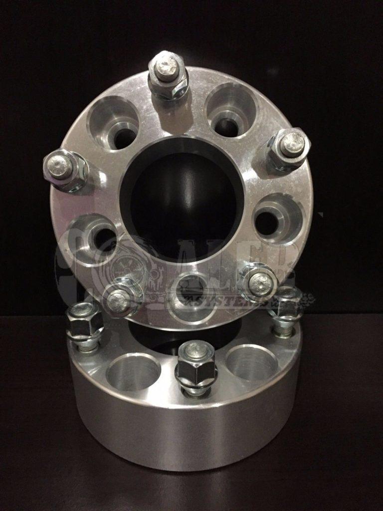 2 inch Wheel Spacers 5×4.5 (5×114.3)   5 Lug