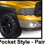 1994 - 2001 Dodge Ram 1500 2500 3500 Pocket Style Riveted Fender Flares