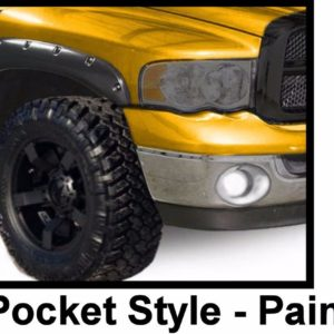 1994 - 2001 Dodge Ram 1500 2500 3500 Pocket Style Riveted Fender Flares