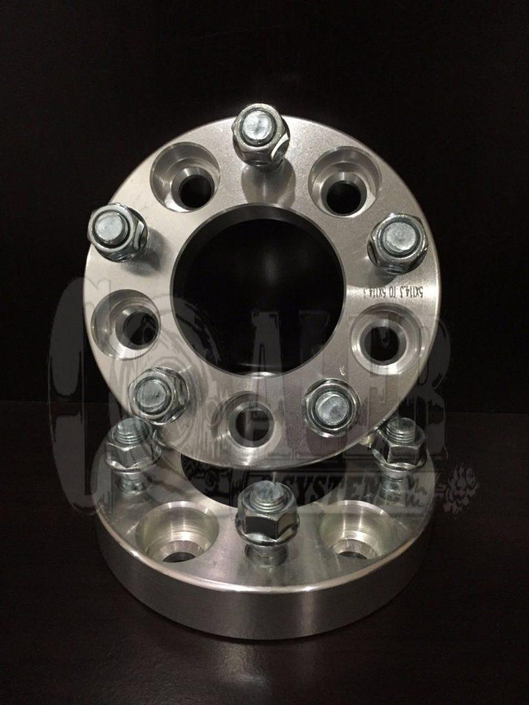 1.5 inch Wheel Spacers 5×5.5 (5×139.7) | 5 Lug