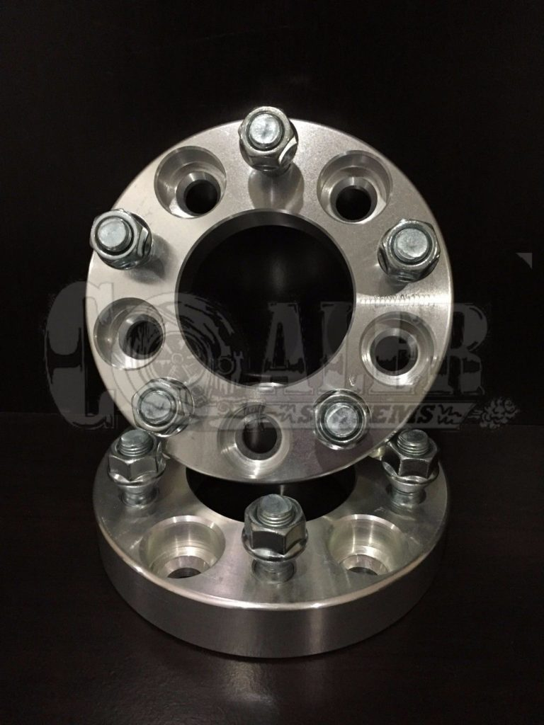 1 inch Wheel Spacers 5×100 to 5×114.3   5 Lug