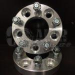 1 inch Wheel Spacers 5x100   5 Lug