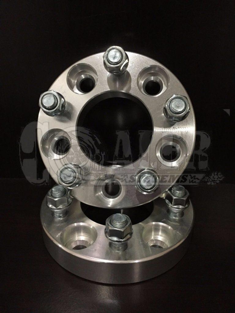1 inch Wheel Spacers 5×100   5 Lug